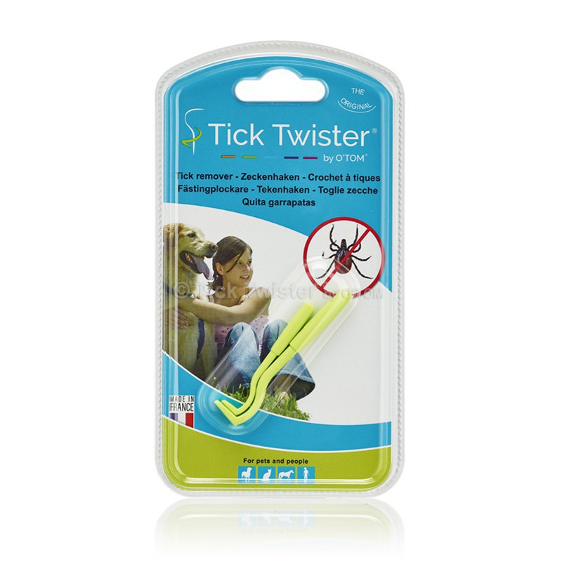 Tick Twister® : The indispensable accessory for removing ticks !
